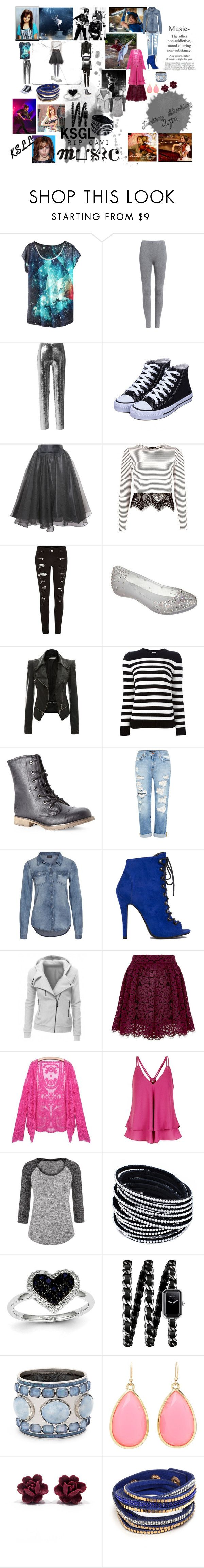"""""""Lindsey Stirling Outfits"""" by phelba-hanna ❤ liked on Polyvore featuring Silent Night, Isabel Marant, Relaxfeel, River Island, Melissa, Yves Saint Laurent, Dirty Laundry, Genetic Denim, VILA and Akira Black Label"""