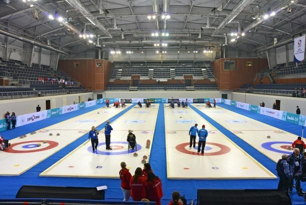 2014 Winter Olympics Curling Venue PICTURES PHOTOS and IMAGES
