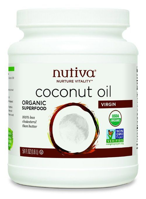 Nutiva Coconut Oil - Detox Options To Kick Start Your Cleanse | organic and GMO free superfood