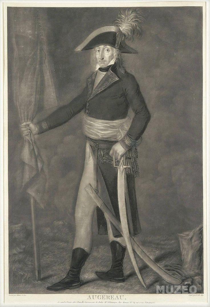 Muzéo, Edition d'art et de photo   Portrait du général Pierre-François-Charles Augereau (1757-1816) de Le Dru Hilaire ,Alix Pierre-Michel © RMN /Gérard Blot