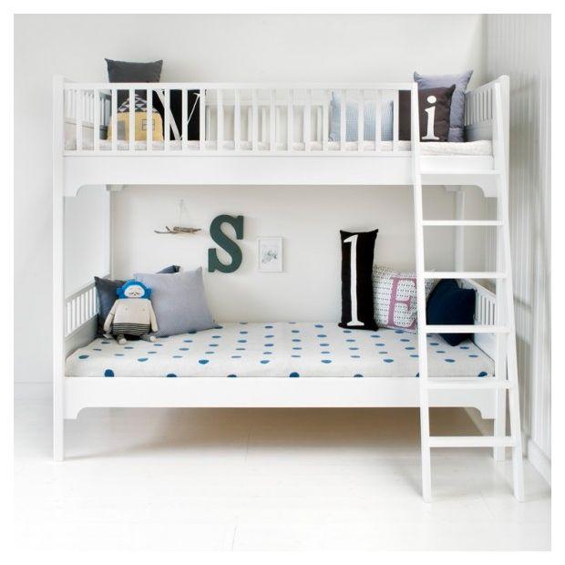 Oliver Furniture Seaside Våningssäng 90x200