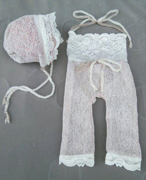 Newborn or Sitter Vintage Inspired Handmade by GeminiiRushDesigns