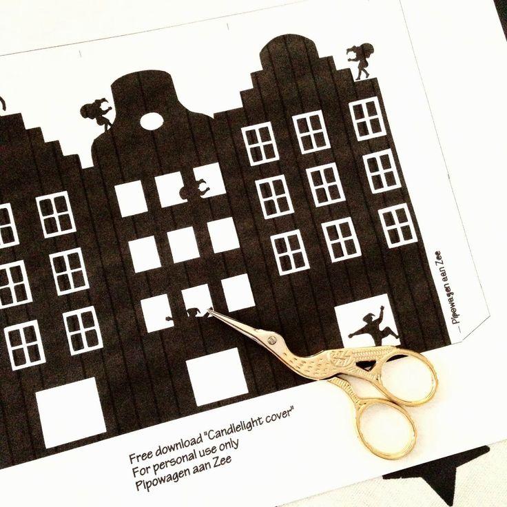 DIY   Sinterklaas lichtje   *by Pipowagen aan Zee*     Het is weer cadeautjestijd!   Sinterklaas en Kerst Cadeautjes geven…cadeautjes ontv...
