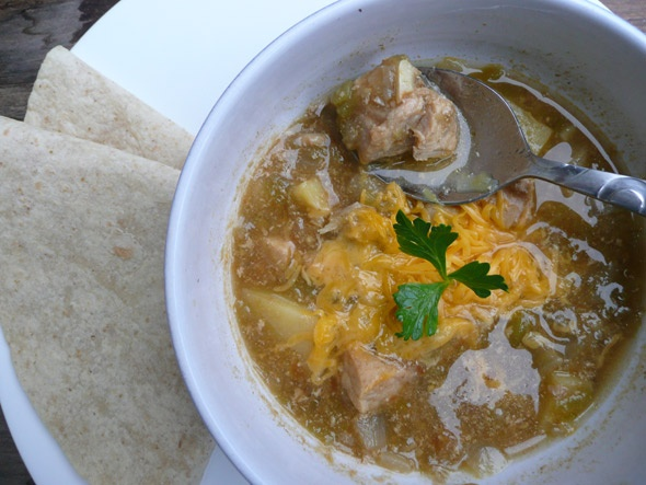 Green Chili Pork Stew with Cinnamon! | Healthy Dinners | Pinterest