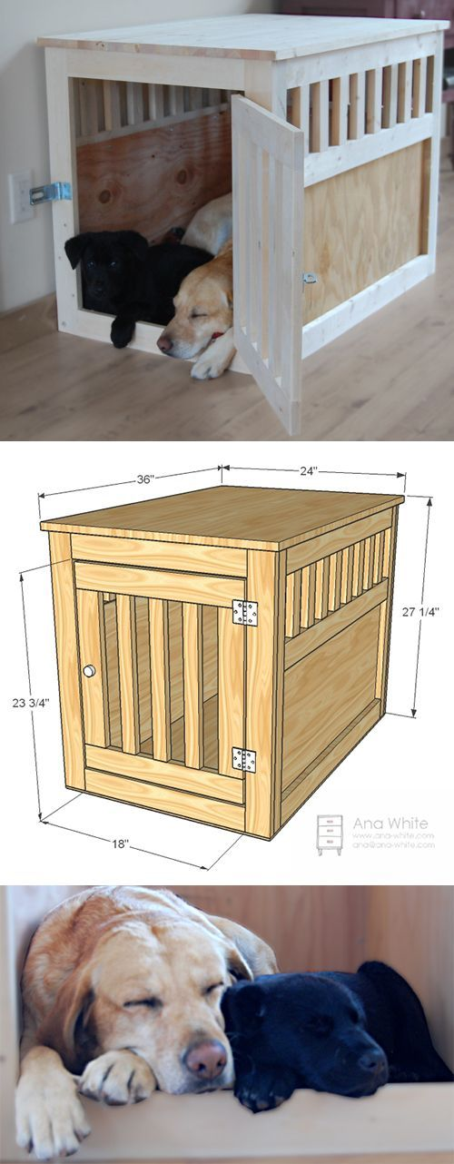 Best 25 dog crates ideas on pinterest dog crate diy for Best wooden dog crate