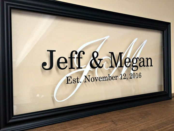 Etsy Personalized Couple Christmas Gift, Gifts for Couple, Bridal Shower Gift, Personalized Wedding Gift, #ad