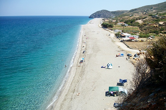Ag.Merkourios beach, Evia, Greece