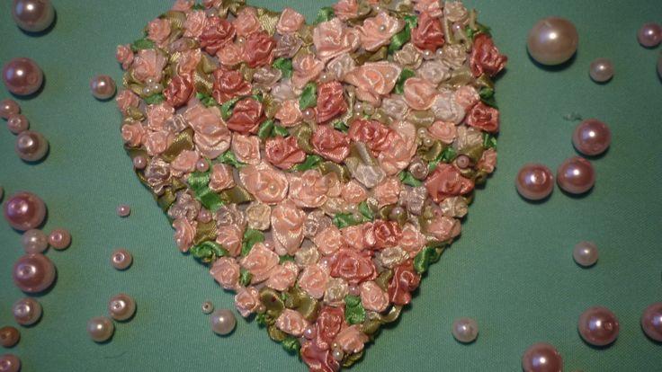 Божественная вышивка Прекрасное сердце Подарок к Дню Святого Валентина
