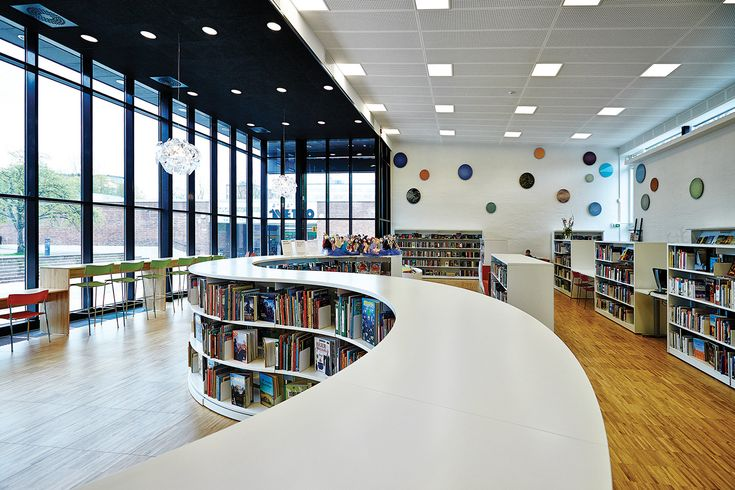 Lammhults Biblioteksdesign - We are library people