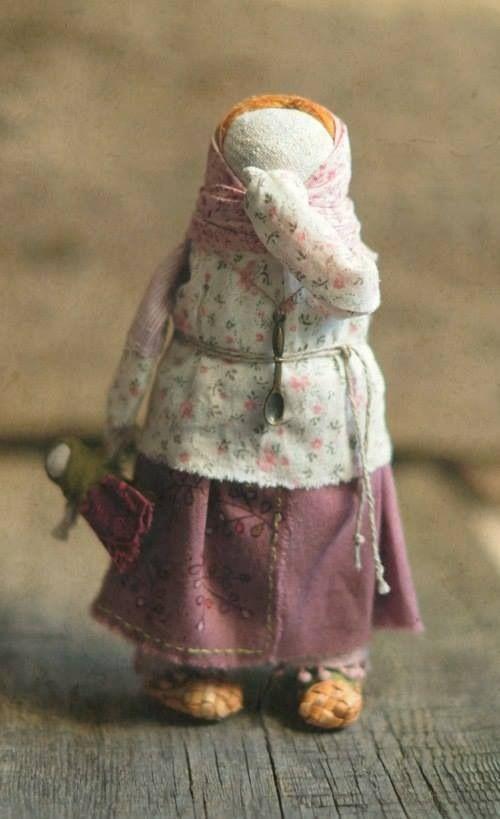 Обережная кукла. Яна Волкова