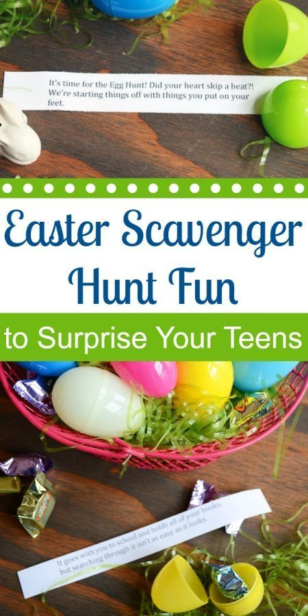 Even More Easter Scavenger Hunt Fun to Surprise Your Teens | Storypiece.net