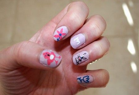 easy nail designs for kids