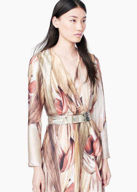Natasha Sahashi's Style Blog What Makes You Happy ?!  : Printed Gown  彩画般的连身长裙(中国语)