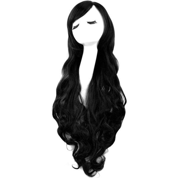 Rbenxia Curly Cosplay Wig Long Hair Heat Resistant Spiral Costume Wigs... ❤ liked on Polyvore featuring costumes, role play costumes, cosplay halloween costumes, cosplay costumes and wigs costume