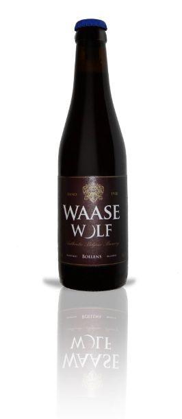 """Waase Wolf / Een mix van verschillende moutsoorten en kruiden geven dit bier het typische """"Belgian Ale"""" karakter. Hergisting op fles."""