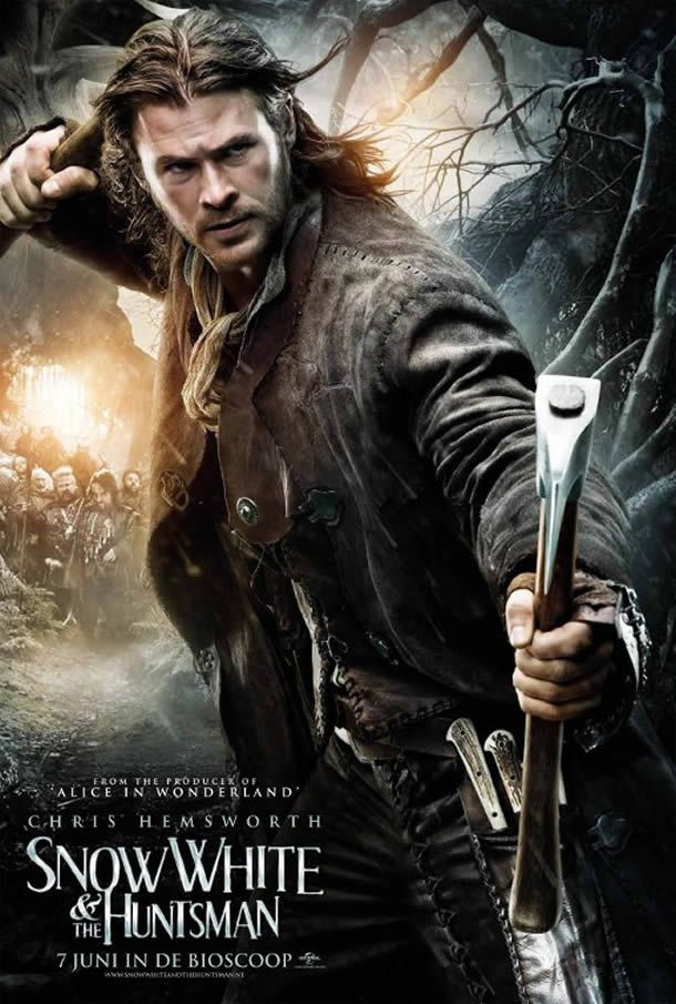 Image detail for -Four New Snow White And The Huntsman Movie Posters Released- CLS