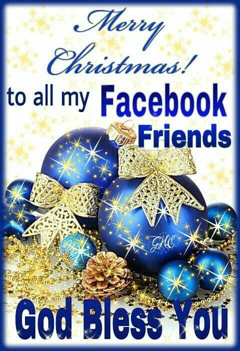 Merry Christmas fb friends   pictures   Pinterest