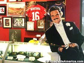 Burt Reynolds and Friends Museum in   Jupiter, Florida