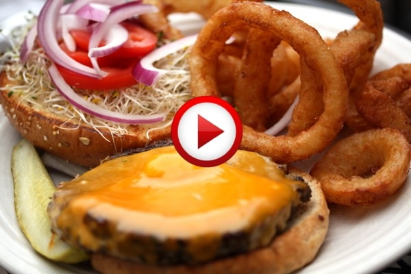 How To Make A Burger Video #cooking, #kitchen, #food, #pinsland, #howto, https://apps.facebook.com/yangutu