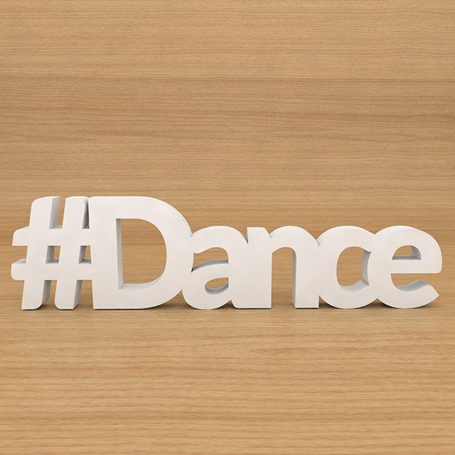 #Dance   Peça confeccionada em MDF de 18mm medindo 13cm de altura…