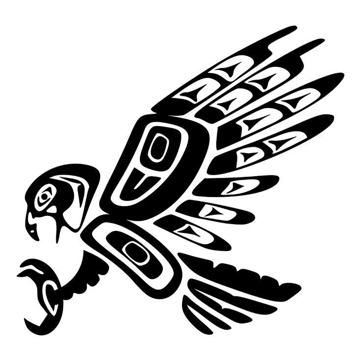 Tatuaggio di Aquila Haida, Fierezza, comando tattoo - custom tattoo designs on TattooTribes.com