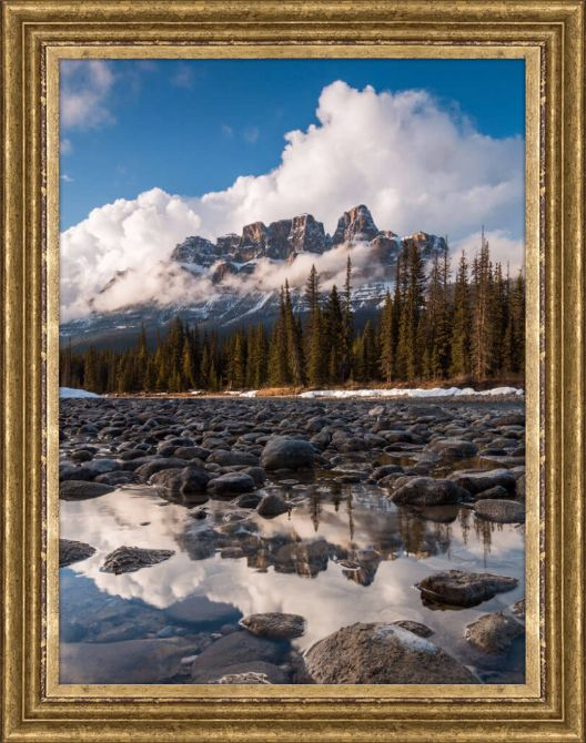 Quadro Castle Mountain (Christoph Schaarschmidt) por On The Wall