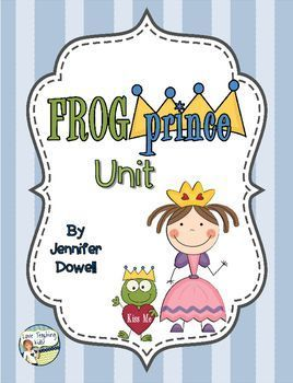 """If you enjoy reading fractured fairy tales then this is the unit for you. This unit includes activities to do with the fairy tale """"The Frog Prince"""" and """"The Frog Prince Continued"""" by Jon Scieszka. Features:Story Map- after reading a version of """"The Frog Prince"""" have the students fill out the story map."""