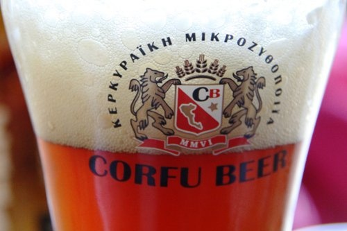 Red Ale in Glass