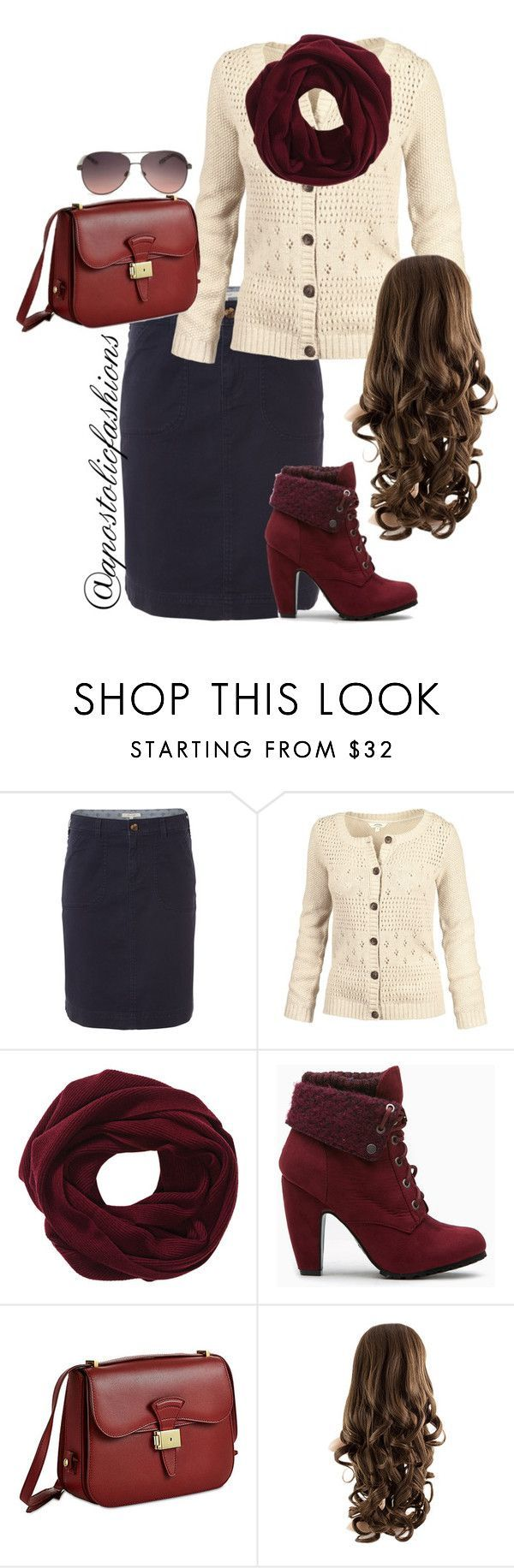 """Apostolic Fashions #929"" by apostolicfashions on Polyvore featuring White Stuff, Fat Face, Dressage Collection and MANGO"