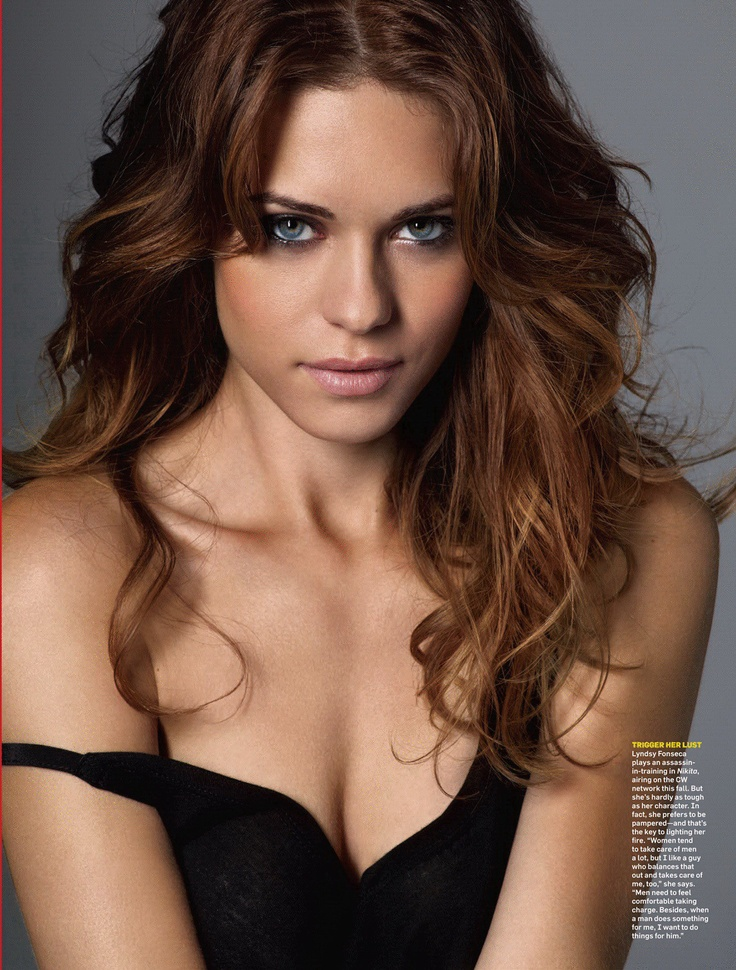 Lyndsy Fonseca starring as Alex in CW's show Nikita.