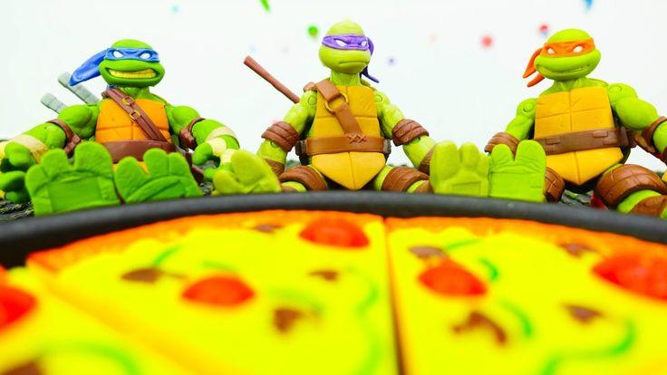 ЧЕРЕПАШКИ-НИНДЗЯ! Видео с игрушками для мальчиков ...