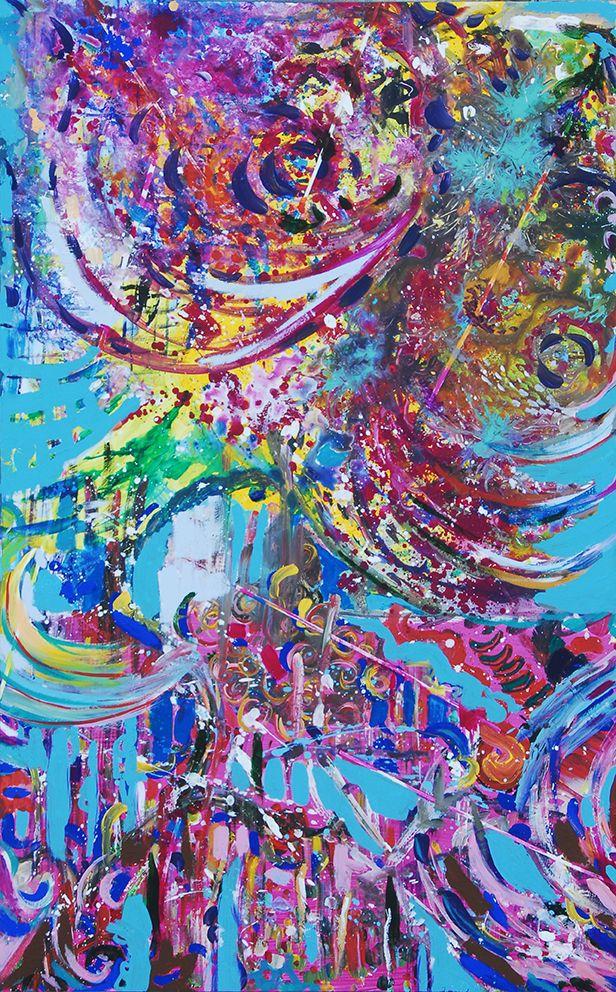 La particolarità dell'Happening a Palazzo Merati è che ha visto la partecipazione sia di autorevoli artisti di caratura internazionale che di persone senza nessuna esperienza pittorica, senza limiti di età, finanche bambini, e questo è indubbiamente una singolarità che sta a dimostrare quanto l'arte sia portatrice di valori quando sconfina nella bellezza profonda della condivisione.
