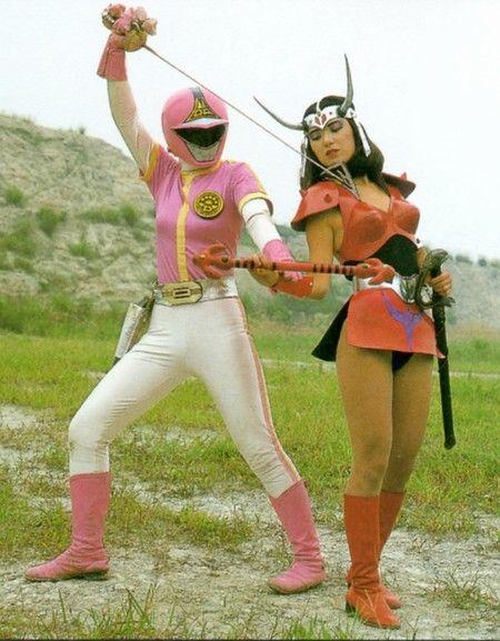 Dyna Pink & Princess Chimera — Dynaman #japan #sentai #supersentai