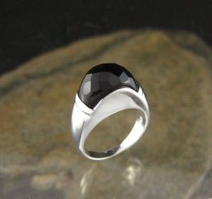 Black agate ring $84