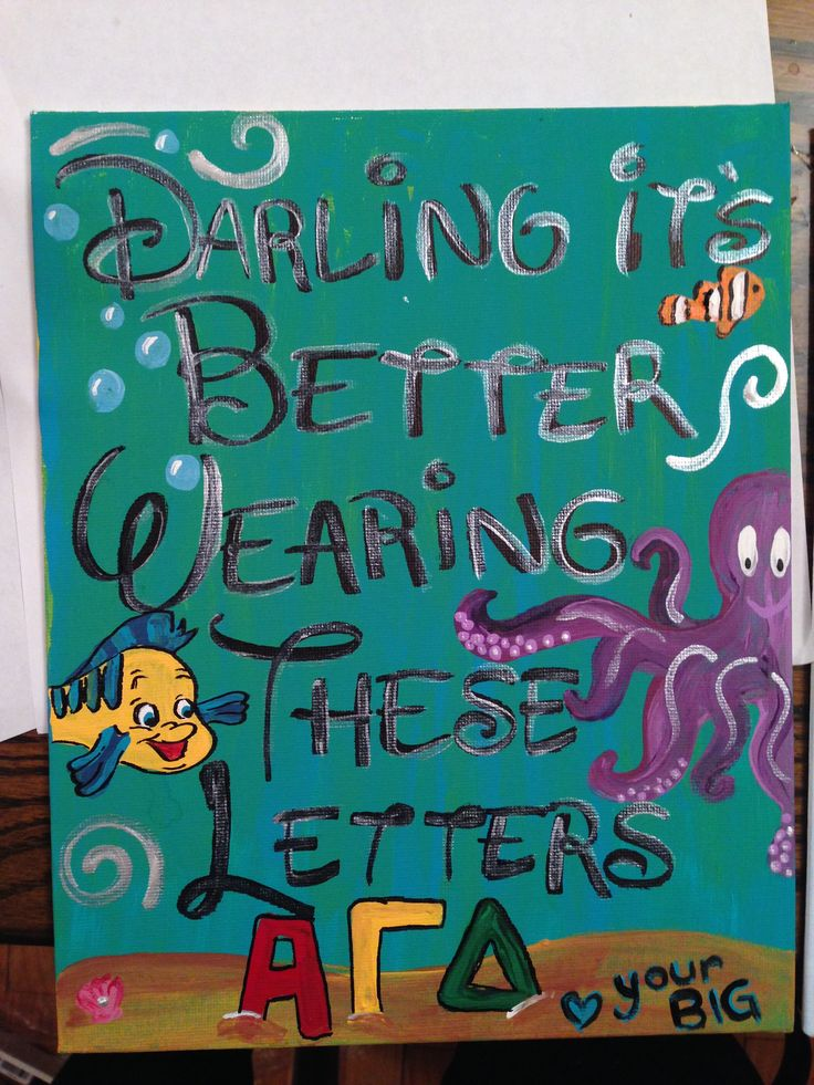 25 b sta big little quotes id erna p pinterest alpha for Sorority crafts for little