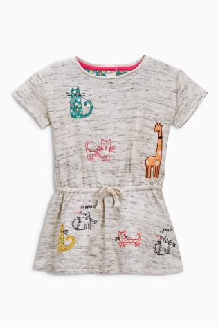 Buy Oatmeal Cat Legging Set (3mths-6yrs) from the Next UK online shop