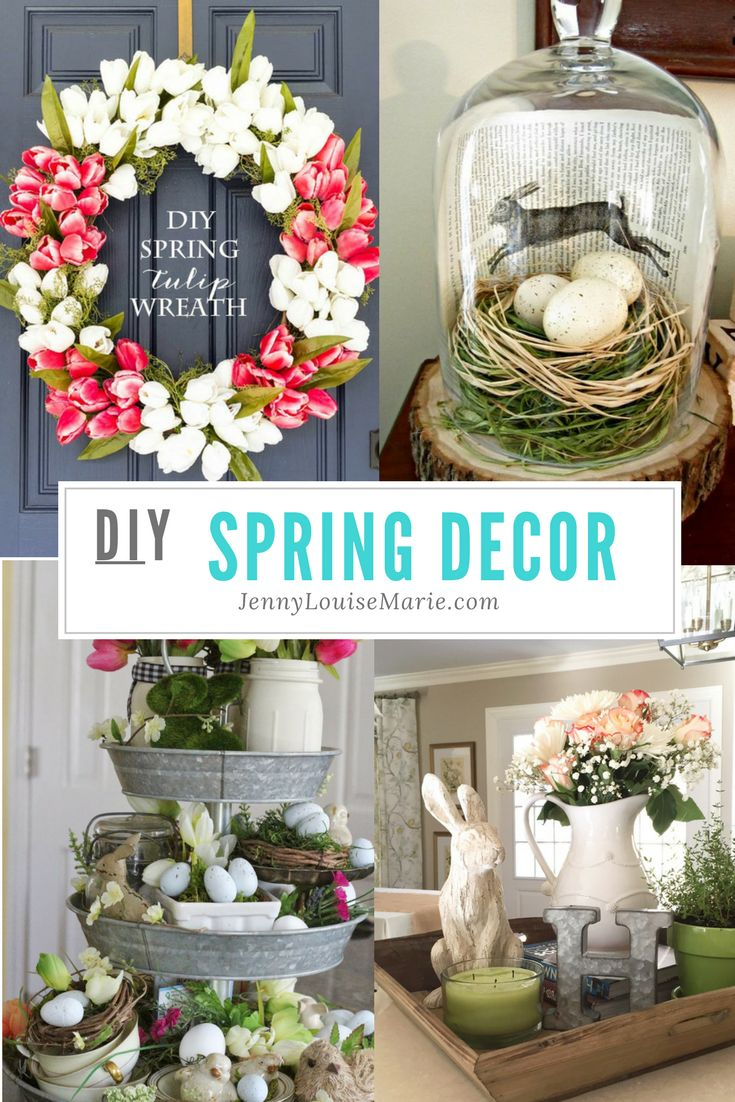 Are you ready to spruce things up for spring?  I've rounded up. some awesome DIYs for you to try for y0our spring decor this year.
