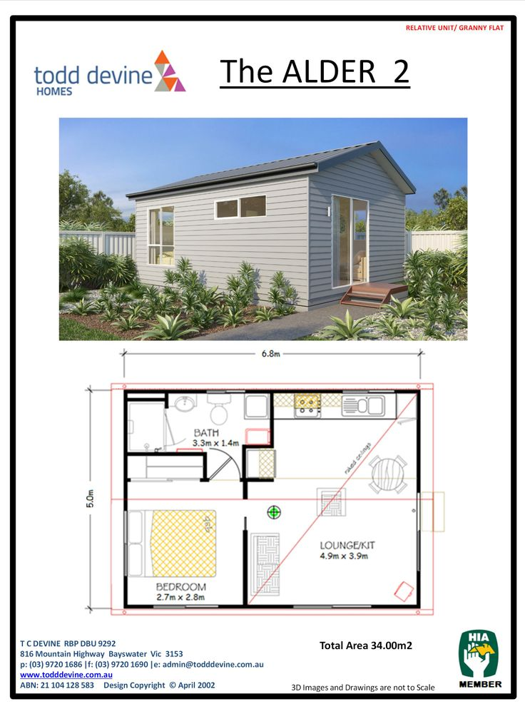 20 best granny flat designs images on pinterest flat design todd devine homes granny flatdpu the alder 2 malvernweather Image collections