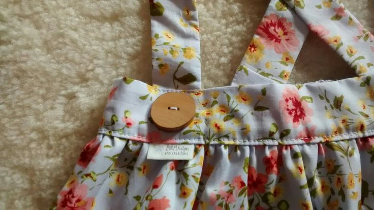 Floral suspender skirt