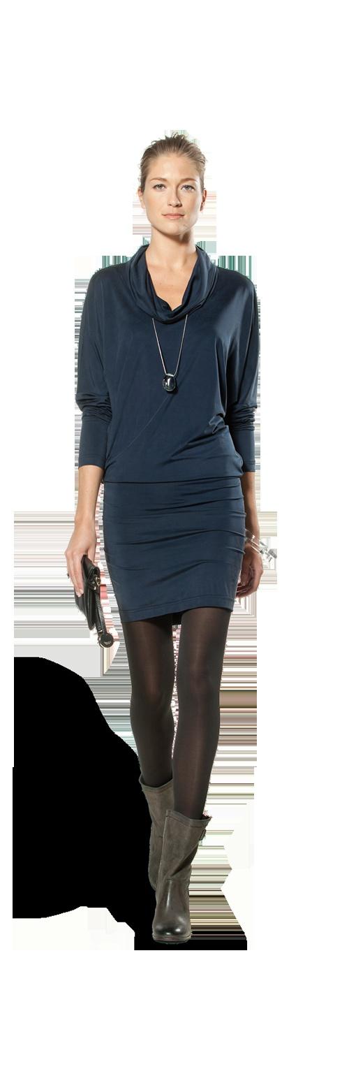 Claudia Strater - jurk met losvallende col €169,95