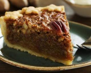 Tarte aux noix de pécan et sirop d'érable à la stévia : http://www.fourchette-et-bikini.fr/recettes/recettes-minceur/tarte-aux-noix-de-pecan-et-sirop-derable-la-stevia.html