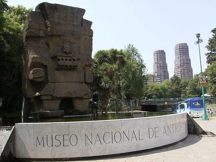 Monolito de Tláloc, Museo Nacional de Antropologia Mexico, via Wikipedia