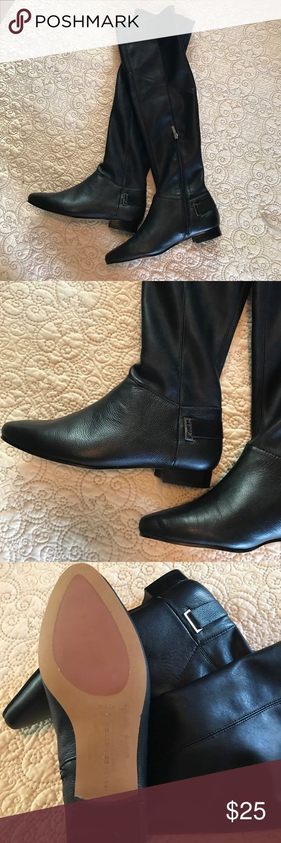 French Connection Over the Knee Boots Never worn, French Connection over the knee boots. Perfect condition! French Connection Shoes Over the Knee Boots