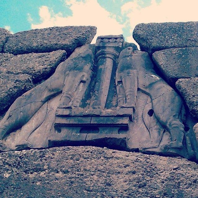 Entrance of #Mycenae. Photo by @bubbuxu