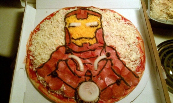 Iron Man pizza - I could try...