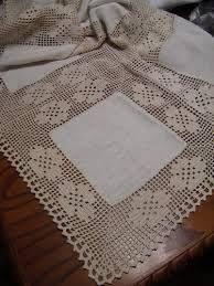 Resultado de imagen de toalhas de mesa de jantar em croche