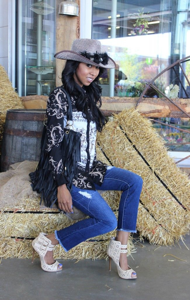 Nicfabulously Chic Canadian Fashion and Inspiration Blog |My Outfit Of The Day For Stampede