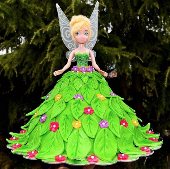 Tinkerbell Cake Topper Is Perfect Party Cake