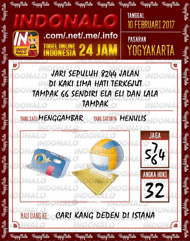 Angka Taysen 6D Togel Wap Online Live Draw 4D Indonalo Yogyakarta 10 Februari 2017