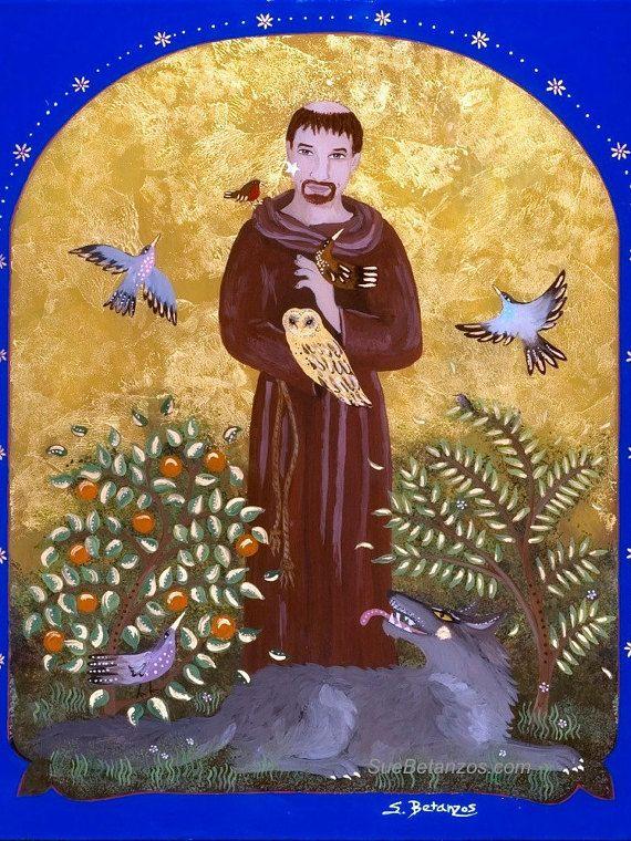 St. Franciscus en de Wolf van Gubbio is een klassiek verhaal van liefde…